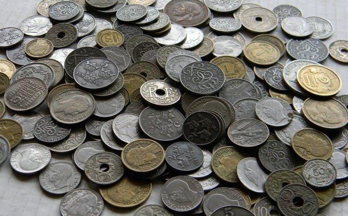 Старые монеты Европы до 1950 года на вес от 1 кг - Продам
