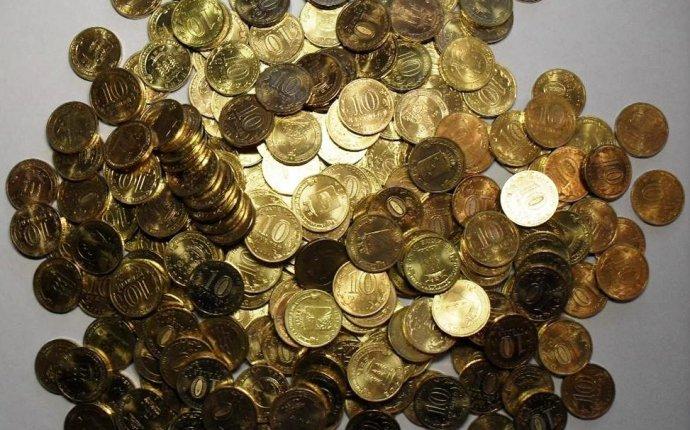 Юбилейные и памятные 10 рублей РФ из стали, плакированной латунью